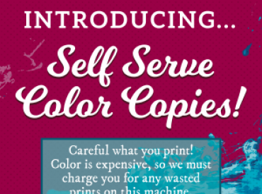 Self Serve Copiers